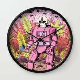 The Dead Spaceman Wall Clock