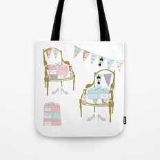 A French Dress Shop Tote Bag
