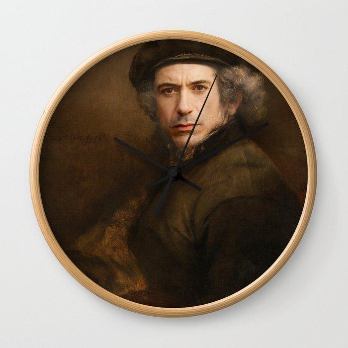 Robert Downey Rembrandt Wall Clock
