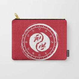 Cancer Yin Yang Fourth Zodiac Sign Carry-All Pouch