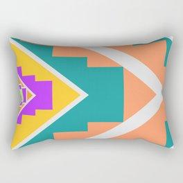 Native summer vibes Rectangular Pillow