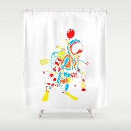 Scuba Diving Underwater Diver Gift Complete Diver Shower Curtain