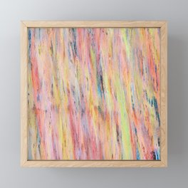 Color gradient and texture 42 Framed Mini Art Print