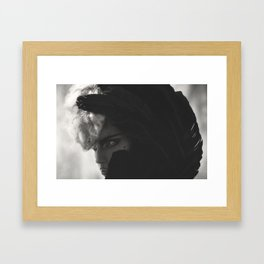 WARRIOR 1 Framed Art Print