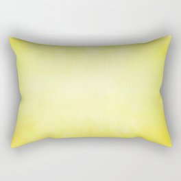 Sunny Yellow Wash of Color Rectangular Pillow
