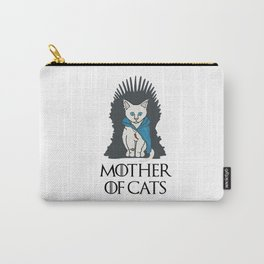 Mother Of Cats 2 Carry-All Pouch