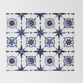 Nautica Blue Throw Blanket