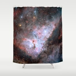 Stars in Space Astronomy Art Shower Curtain