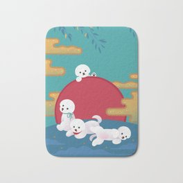 Year of dog Bath Mat