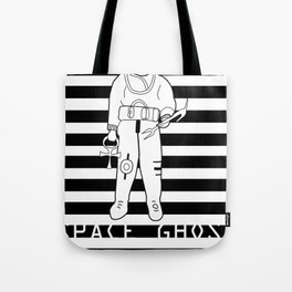 SPACE GHOST BLK Tote Bag