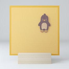 Penguin Key chain Mini Art Print