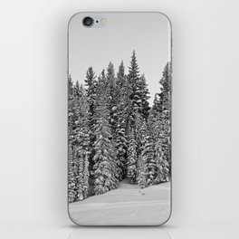 Vail Mountain Forest Study 2 iPhone Skin