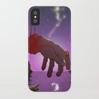 captain hook iPhone & iPod Cases featuring Hook by Aaron Rossell