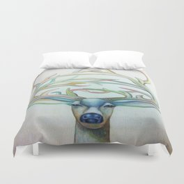 Deer Lord Duvet Cover
