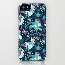 Butterfly princess iPhone Case