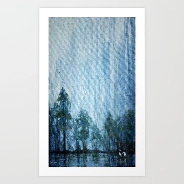 Florida Springs Art Print