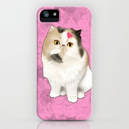Cherry_the_flat_face_princess iPhone Case
