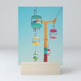 Gondolas - Santa Cruz, California Mini Art Print