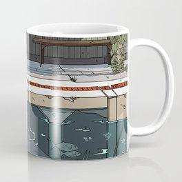 High Tide Tracks Coffee Mug