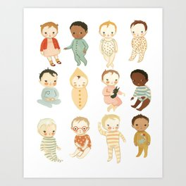 Babies by Emily Winfield Martin Art Print