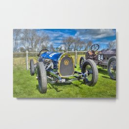 Pic-Pic Vintage Racing Car Metal Print