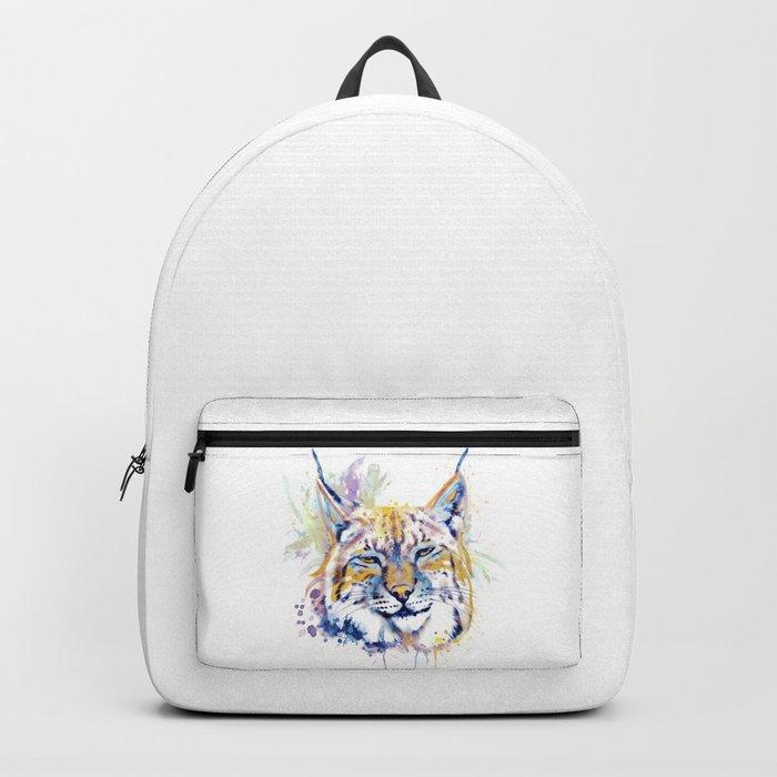 Bobcat Head Backpack