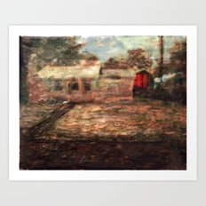 Back House Art Print