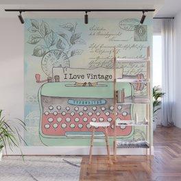 Typewriter #2 Wall Mural