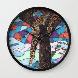 Hangin' Around Wall Clock