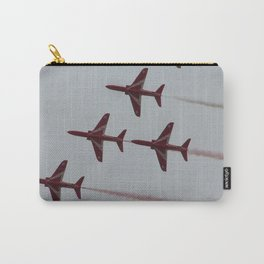 Royal Air Force Fighter Planes In Formation Carry-All Pouch