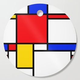 Piet Pattern Cutting Board