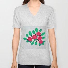 Roses IV Unisex V-Neck