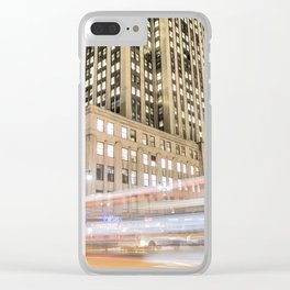 Light Speed New York Clear iPhone Case