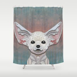 Fennec Fox Shower Curtain