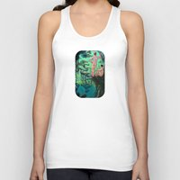 paradise Tank Tops featuring Paradise by Butch McLogic