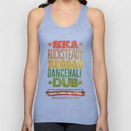 Shades of Reggae Unisex Tank Top