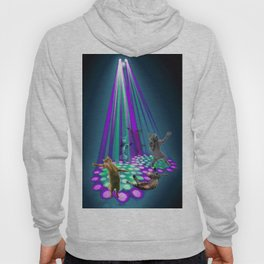 cats party Hoody
