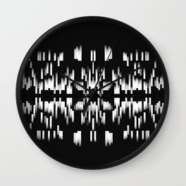 Black and White SOUTHWEST inspired Pattern Wall Clock