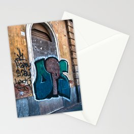 SICILIAN FACADE in CATANIA Stationery Cards