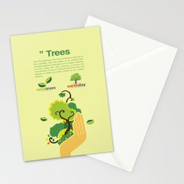Save Trees Stationery Cards