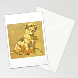 Dogs Large and Small, Ideal for Dog Lovers (3) Stationery Cards