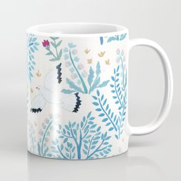 white birds garden Coffee Mug