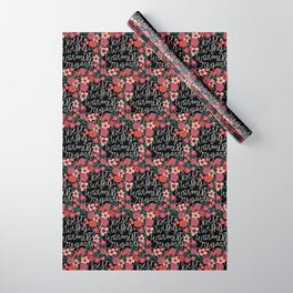 Best Wishes, Warmest Regards Wrapping Paper