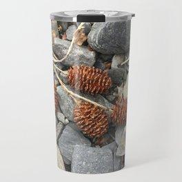 River Stone Tiny Cones Travel Mug