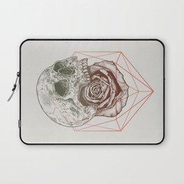 Skull Rose Geo Laptop Sleeve