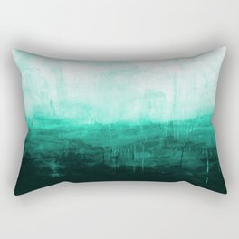 Paint 8 abstract minimal modern water ocean wave painting must have canvas affordable fine art Rectangular Pillow