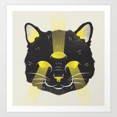 Caturday Art Print