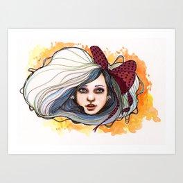 """""""BellaV"""" Art Print"""