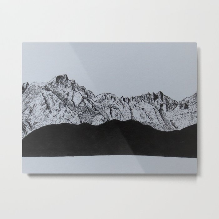 Sierra Nevada Range Metal Print