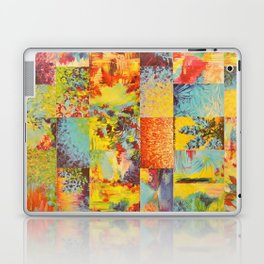 COLORFUL INDECISION 2 - Vibrant Wow Beautiful Abstract Acrylic Painting Collection Nature Rainbow Laptop & iPad Skin